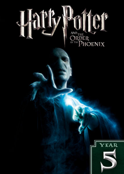 Harry Potter and the Order of the Phoenix on Netflix AUS/NZ