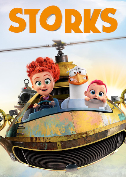 Storks on Netflix AUS/NZ