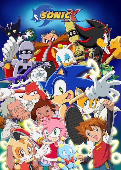 Sonic X on Netflix AUS/NZ