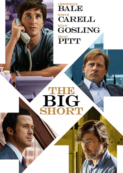 The Big Short on Netflix AUS/NZ