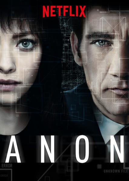 Anon on Netflix AUS/NZ