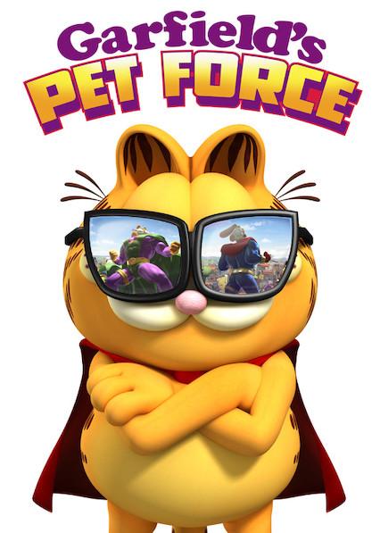 Garfield's Pet Force on Netflix AUS/NZ