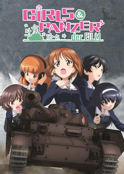 Girls und Panzer der Film on Netflix AUS/NZ