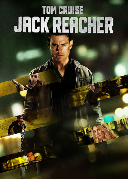 Jack Reacher on Netflix AUS/NZ