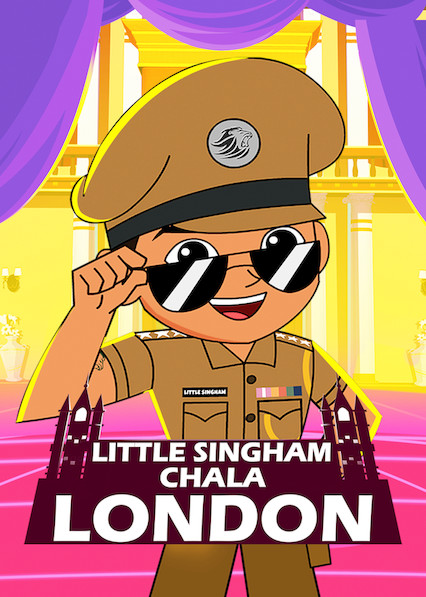 Little Singham in London on Netflix AUS/NZ