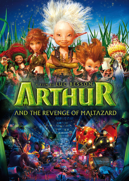 Arthur and the Revenge of Maltazard on Netflix AUS/NZ