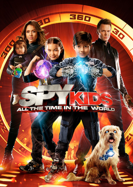 Spy Kids: All the Time in the World on Netflix AUS/NZ