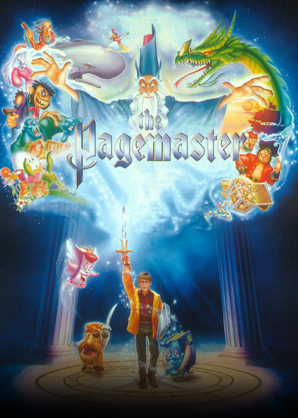 The Pagemaster on Netflix AUS/NZ