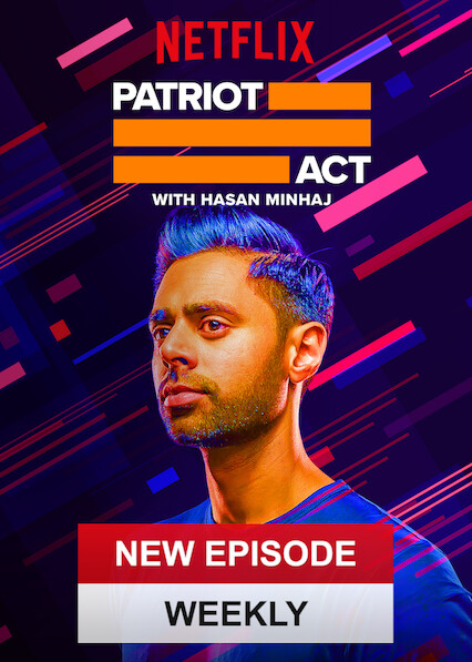 Patriot Act with Hasan Minhaj on Netflix AUS/NZ