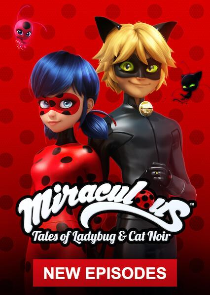 Miraculous: Tales of Ladybug & Cat Noir on Netflix AUS/NZ