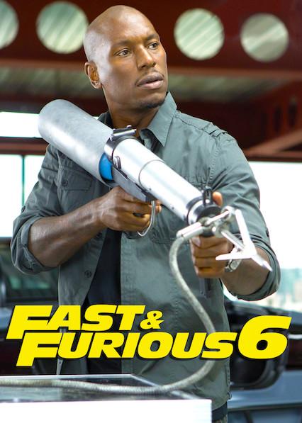Fast & Furious 6 on Netflix AUS/NZ