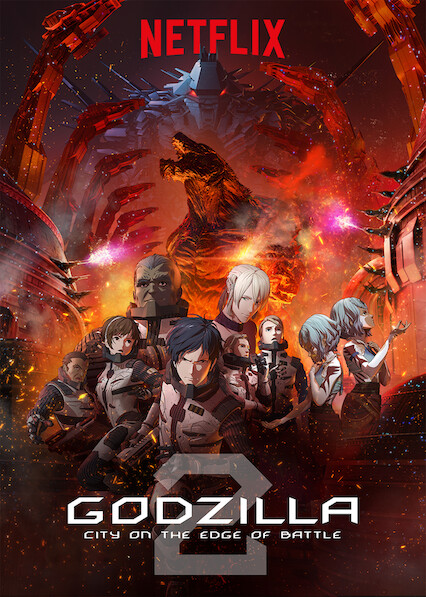 GODZILLA City on the Edge of Battle on Netflix AUS/NZ