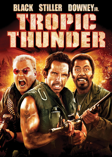 Tropic Thunder on Netflix AUS/NZ
