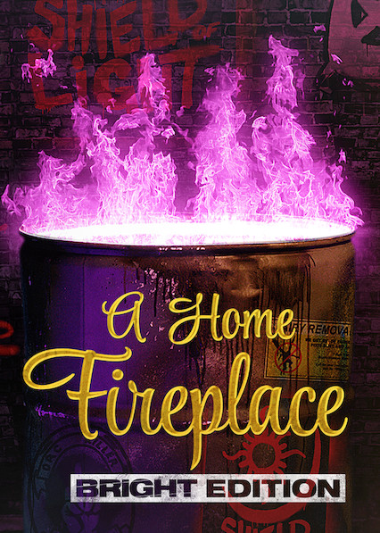 A Home Fireplace: Bright Edition