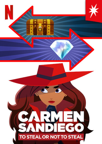 Carmen Sandiego: To Steal or Not to Steal on Netflix AUS/NZ