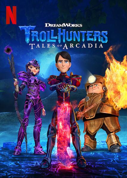Trollhunters: Tales of Arcadia on Netflix AUS/NZ