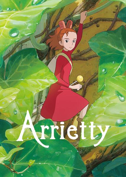 Arrietty on Netflix AUS/NZ