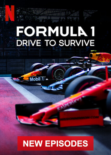 Formula 1: Drive to Survive on Netflix AUS/NZ